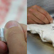 Detaillierte Nachbearbeitung von CNC Frackteilen per Hand