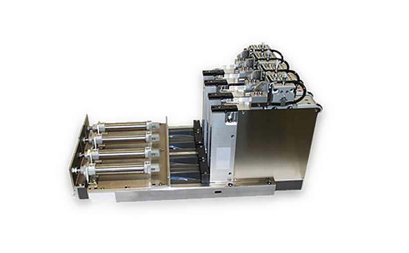 Gerätebau-Beispiel einer Assemblierungseinheit in der Halbleiterindustrie
