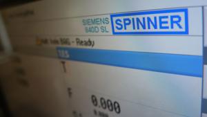 Siemens 840D SL Steuerung auf SPINNER