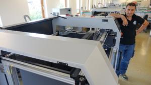 Montage eines German RepRap 3D Druckers X1000