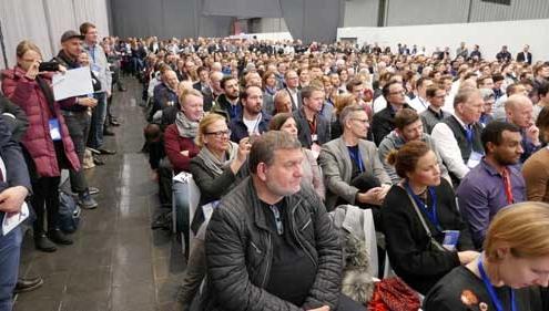 Full House: Über 2500 Teilnehmer